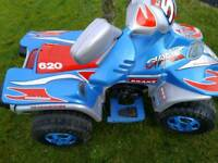 Battery operated quad
