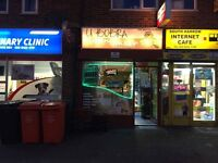 Retail shop for sale, curently off licence polish shop. More info 07470255090.