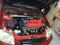 1998 civic with B18 motor swap trade for truck or suv
