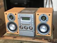 sony cmt-m100md HIFI minidisc/CD/Cassette/radio