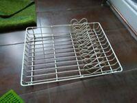 Cream heart shape dish rack / drainer