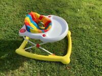 Mothercare baby walker.