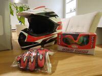 Kids quad bike helmet