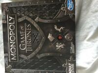 monopoly game of thrones board game with sound effect
