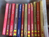 Box of Haynes workshop manuals