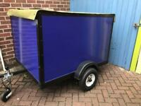 Trailer and bespoke weather proof cover