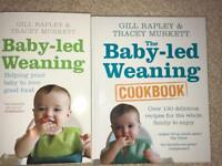 2 x Baby Led Weaning Books