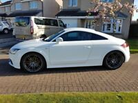 Audi TT 2.0 TFSI Black Edition - Ibis White - FSH - Transferable Warranty