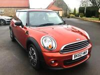 MINI HATCH ONE 1.6 ONE 3d 98 BHP Great Colour, lovely first car (orange) 2010