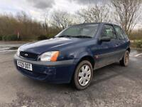 Ford Fiesta 1.3 Finesse Blue Long Mot 3Dr Bargain Quick Sale Manual
