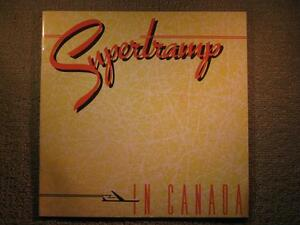 Supertramp Breakfast in America Concert Tour Program