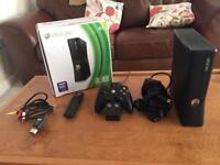 Boxed Xbox 360 (WiFi) & 9 games