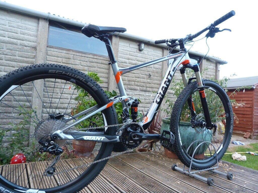 2015 Giant Anthem 3 Full Suspension Mountain Bike - 27.5 wheel - 18 ...