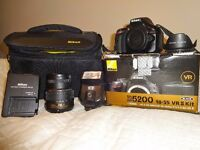 NIKON D5200 NEARLY NEW ONLY 3500 CAMERA SHOOTER
