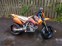 KTM 625 supermoto dynojet rolling road with printout