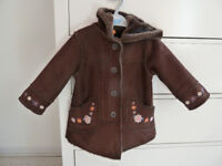 duffle coat for 12-18 months old girl