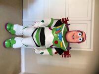 UK SELLER look alike brand new Buzz Lightyear delux Mascot Costume fancy dress