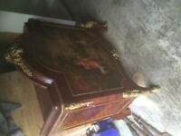Reproduction French Ormolu Hall Table
