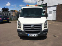 vw crafter recovery truck/ car transporter 1 years mot good condition