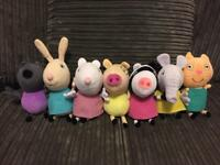 Peppa Pig plush toys 7 friends