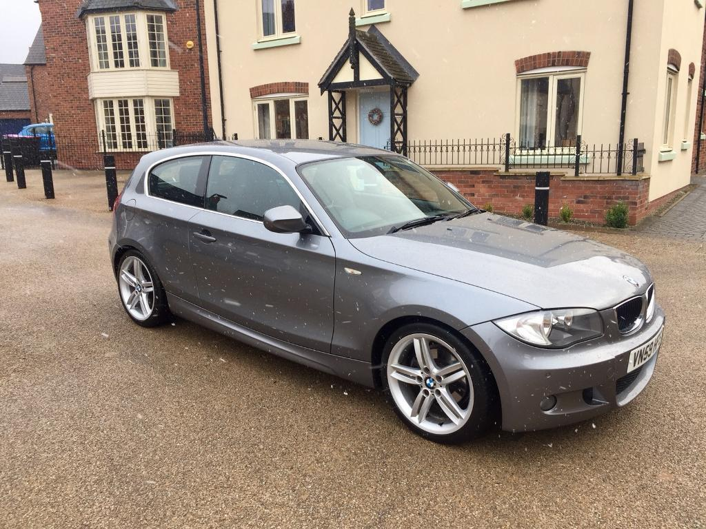 bmw 1 series 2 0 118d m sport 2009 59 long mot full service recently serviced in telford. Black Bedroom Furniture Sets. Home Design Ideas
