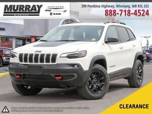 2019 Jeep Cherokee Trailhawk Elite *V6/NAV/LEATHER/PANOR SUNROOF