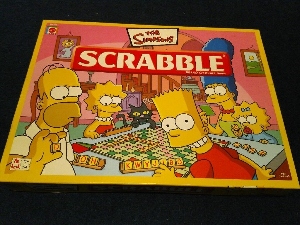 Scrabble: Simpsons Edition - Board Game