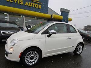 2012 Fiat 500 LOUNGE CUIR TOIT OUVRANT BLUETHOOTH 8 PNEUS 84600 Québec City Québec image 2