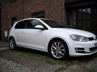 Volkswagen Golf 2.0 TDI GT (150 PS) 3-dr, 2013 63 plate, Pure White, 39,060 miles