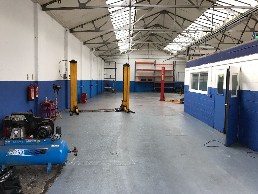Car Garage Workshop Business For Sale Lease Hold In