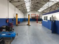 car garage workshop business for sale lease hold