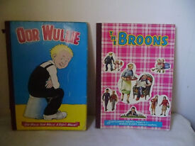 OOR WULLIE & THE BROONS ANNUALS 1968-2000