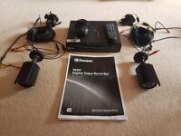 Swann 4 channel CCTV system