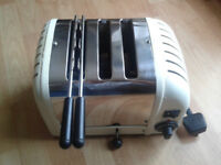 DUALIT Toaster 3/Slot Combi Model - Excellent Condition.