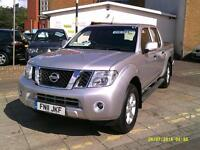 NISSAN NAVARA Double Cab Pick Up Acenta 2.5dCi 190 4WD (silver) 2011