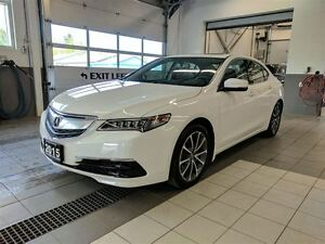2015 Acura TLX AWD - One owner - low km's - MINT!