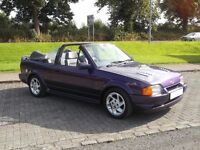 FORD ESCORT CABRIOLET (XR3i RS)
