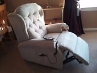 Celebrity electric recliner & static sofa