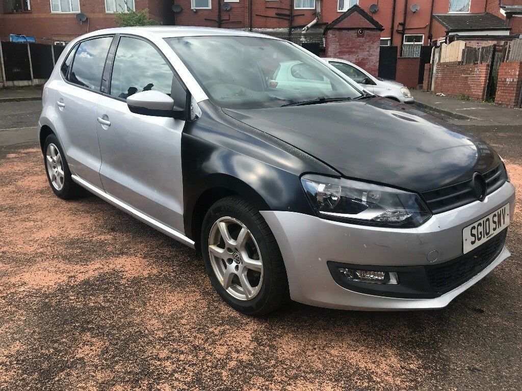 vw polo 1 2 damaged cat d cheap must see in rochdale. Black Bedroom Furniture Sets. Home Design Ideas