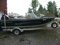 Starcraft Superfisherman 176 loaded for fishing
