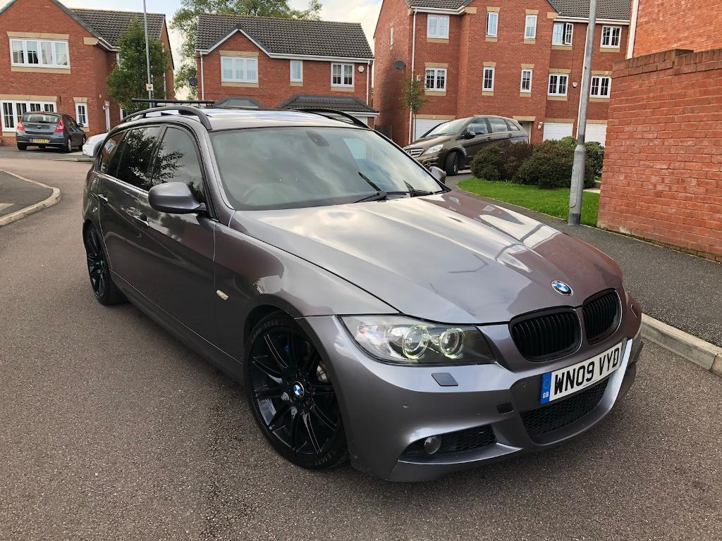 2009 BMW 335d M SPORT TWIN TURBO DIESEL AUTO TOURING ESTATE LCI FACELIFT PAN ROOF LEATHERS MAY PX