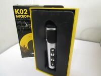 Used: Remax K02 plug and play microphone support IOS/Android/PC/Recorder