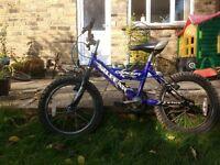 "Boy's 16"" wheel mountain style bike, suit 5-7 year old"