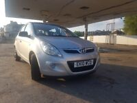 Hyundai I20 Classic PB 2010 Petrol Silver 12 Month MOT no Advisories 5 dr 5 Spd Maual(V.LOW MILEAGE)
