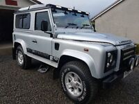 "LAND ROVER DEFENDER 90 COUNTY 2.4TDCi ""PUMA"" 6 SEATER HARDTOP"
