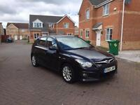 2009 HYUNDAI I30 COMFORT 12 MONTH MOT FULL SERVICE HISTORY LOW MILEAGE HALF LATHER FULL HPI CLEAR