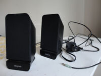 SPEAKERS with volume control