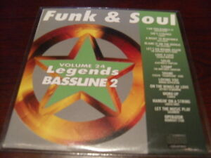 LEGENDS KARAOKE CD+G BASSLINE VOL 24 FUNK & SOUL NEW