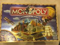 Monopoly- wonders of the world version
