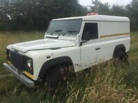 *** landrover defender td5 110 swap px car van ****